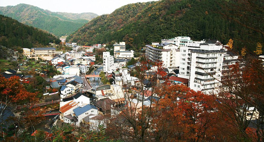 <small>San'in Kaigan Geopark &quot;hot spring resources&quot;</small><br />Yumura Onsen