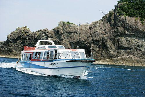 Tajima coastline tour boat